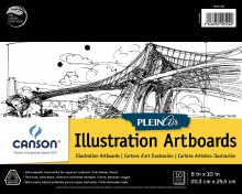 Canson Plein Air Illustration Artboard Pads, 8 in. x 10 in. - 10 Shts./Pad