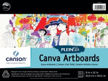 Canson Plein Air Canva Artboard Pads, 9 in. x 12 in. - 10 Shts./Pad