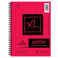 Canson XL Sketch Pads, 5.5 in. x 8.5 in. in. - 100 Sheets/Pad, Side Wire-Bound