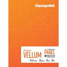 Vellum Books, Plain, 6 in. x 8 in. - Plain, 50 Shts./Pad