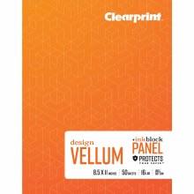 Vellum Books, Plain, 8.5 in. x 11 in. - Plain, 50 Shts./Pad