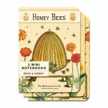 Mini Notebook Sets - Bees & Honey