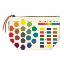 Vintage Inspired Pouches, Color Wheel