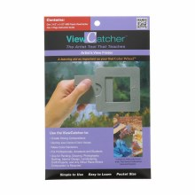 ViewCatcher, 3-1/2 in. Square Gray Plastic
