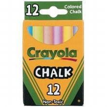 Chalk, Colored (12/Box)