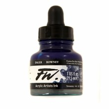 FW Acrylic Artists Ink, Prussian Blue Hue