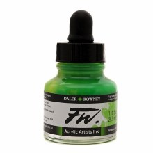 FW Acrylic Artists Ink, Light Green