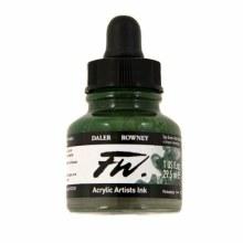 FW Acrylic Artists Ink, Sap Green