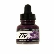 FW Acrylic Artists Ink, Purple Lake