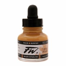 FW Acrylic Artists Ink, Flesh Tint
