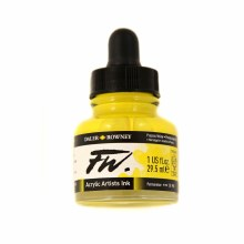 FW Acrylic Artists Ink, Process Yellow
