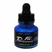 FW Pearlescent Liquid Acrylics, Galactic Blue
