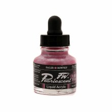 FW Pearlescent Liquid Acrylics, Platinum Pink