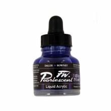 FW Pearlescent Liquid Acrylics, Dutch Blue
