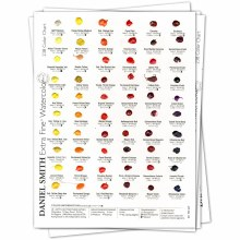 Extra Fine Watercolor Dot Try-It Cards, 238-Dot Try-It Card