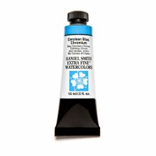 Daniel Smith Watercolors, 15ml Tubes, Cerulean Blue, Chromium