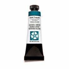 Extra-Fine Watercolors, 15ml Tubes, Cobalt Turquoise