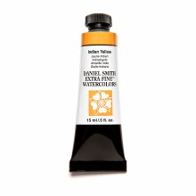 Extra-Fine Watercolors, 15ml Tubes, Indian Yellow