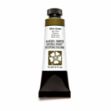 Extra-Fine Watercolors, 15ml Tubes, Olive Green