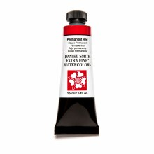 Extra-Fine Watercolors, 15ml Tubes, Permanent Red