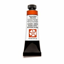 Extra-Fine Watercolors, 15ml Tubes, Quinacridone Deep Gold
