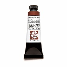 Extra-Fine Watercolors, 15ml Tubes, Burnt Tigers Eye Genuine - PrimaTek
