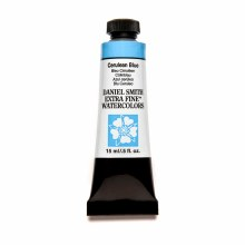 Extra-Fine Watercolors, 15ml Tubes, Cerulean Blue