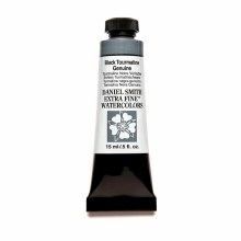 Extra-Fine Watercolors, 15ml Tubes, Black Tourmaline Genuine - PrimaTek