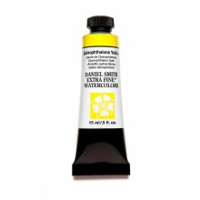 Daniel Smith Watercolors, 15ml Tubes, Quinophthalone Yellow