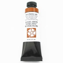 Extra-Fine Watercolors, 15ml Tubes, Burnt Sienna Light