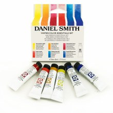 Extra-Fine Watercolor 5ml Essentials Introductory Watercolor Set - Six Colors 5ml Tubes