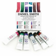 Extra-Fine Watercolor 5ml Introductory Sets, PrimaTek Introductory Watercolor Set - Six Colors 5ml Tubes