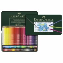 Polychromos Artist Colored Pencil Sets, 120-Pencil Tin Set
