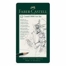 Castell 9000 Pencil Sets, 12-Pencil Art Set