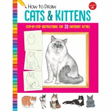 How to Draw Jr. Series Books, How to Draw Cats & Kittens