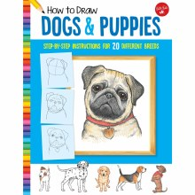 How to Draw Jr. Series Books, How to Draw Dogs & Puppies