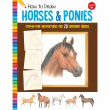 How to Draw Jr. Series Books, How to Draw Horses & Ponies