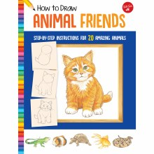 How to Draw Jr. Series Books, How to Draw Animal Friends