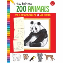 How to Draw Jr. Series Books, How to Draw Zoo Animals