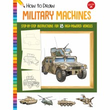 How to Draw Jr. Series Books, How to Draw Military Machines