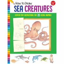 How to Draw Jr. Series Books, How to Draw Sea Creatures