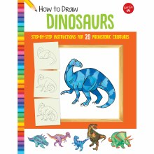 How to Draw Jr. Series Books, How to Draw Dinosaurs