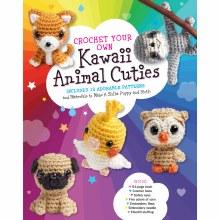 Crochet Your Own Kawaii Animal Cuties Kit