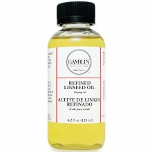 Refined Linseed Oil, 4.2 oz.
