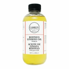 Refined Linseed Oil, 8.5 oz.