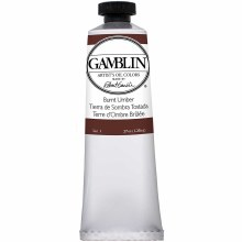 Gamblin Oil Colors, 37ml, Burnt Umber