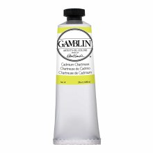 Gamblin Oil Colors, 37ml, Cadmium Chartreuse