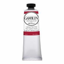 Gamblin Oil Colors, 37ml, Cadmium Red Deep