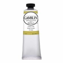 Gamblin Oil Colors, 37ml, Green Gold