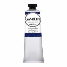 Gamblin Oil Colors, 37ml, Indathrone Blue